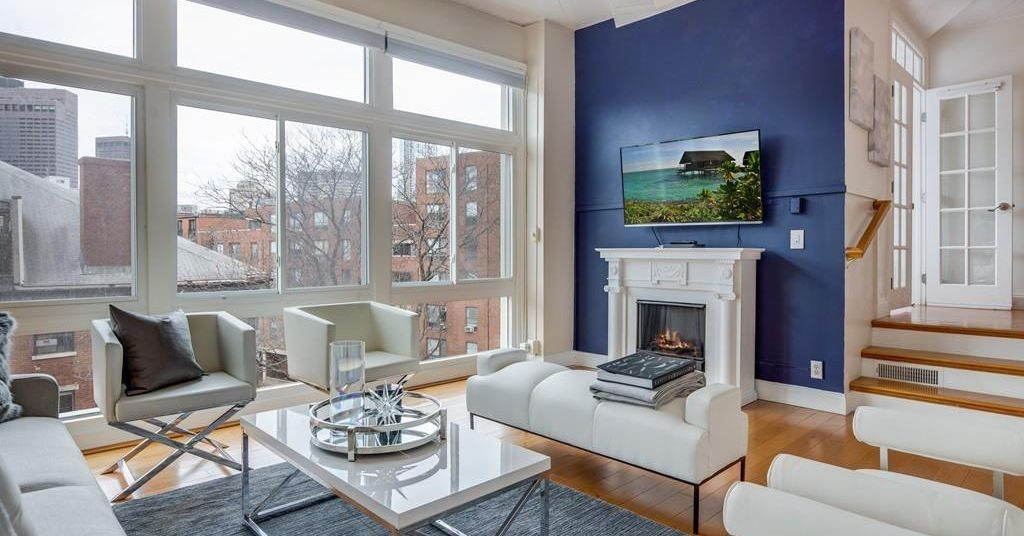 Capacious North End two-bedroom in a former pasta factory asks $899,000