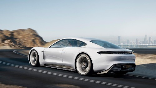 Porsche's Tesla rival spotted in the wild for the first time