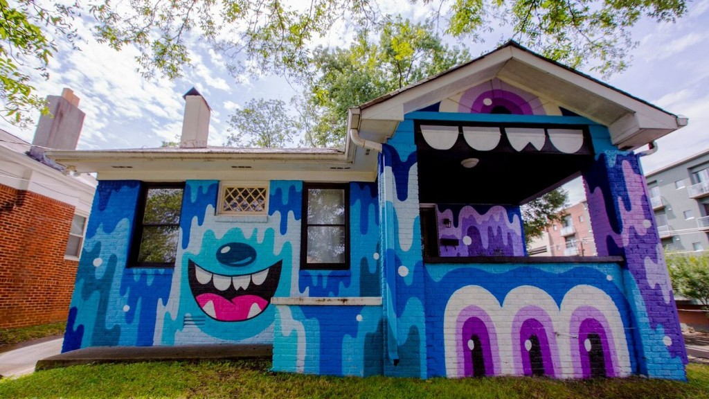 Photos: Old Fourth Ward bungalow is becoming one big work of art