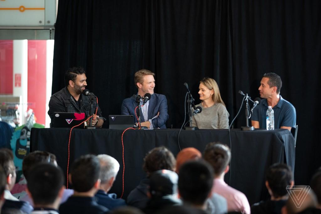 Listen to The Vergecast live at Google I/O