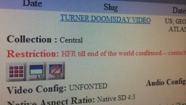 A former intern found the video CNN planned to play at the end of the world