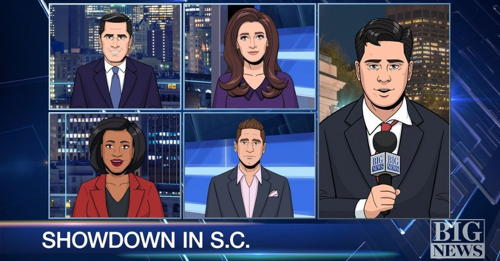 'Tooning Out the News' struggles to be more bizarre than reality
