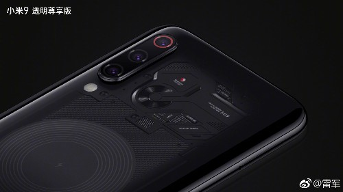 Xiaomi is finally being more transparent about its see-through Mi 9