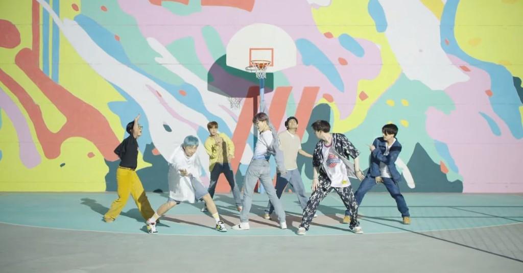 K-pop superstars BTS collaborating with MapleStory