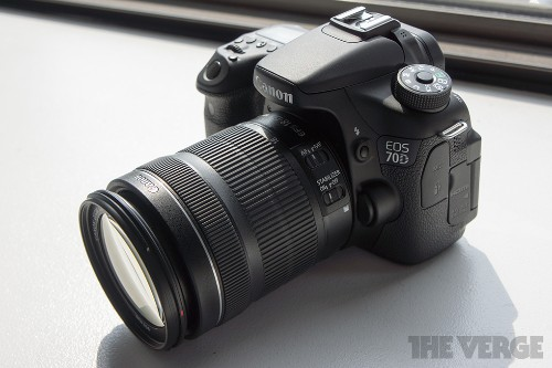 Canon introduces EOS 70D DSLR, says its autofocus changes the game for filmmakers