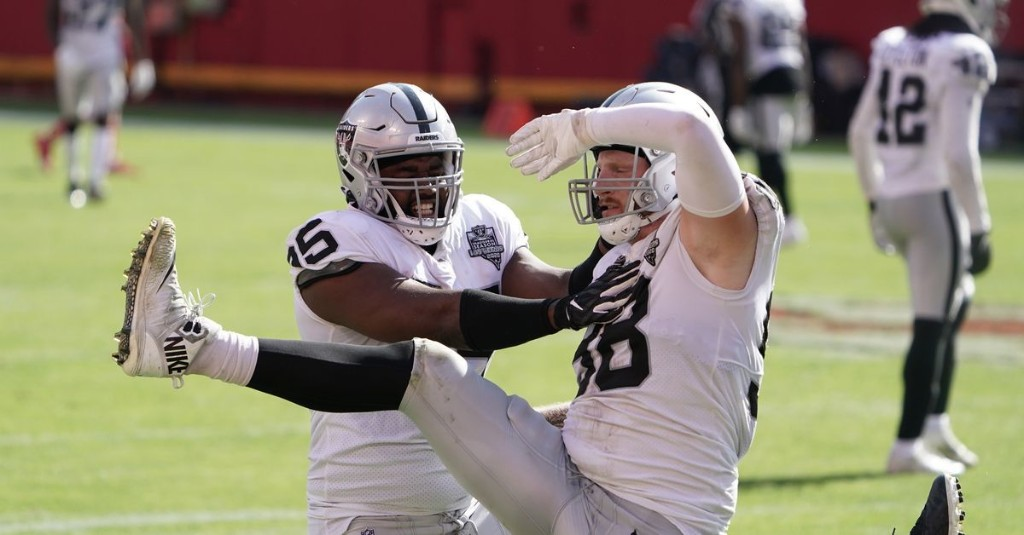 4 numbers that help define the Raiders season so far