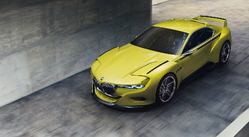 BMW shows off its newest concept car: the 3.0 CSL Hommage
