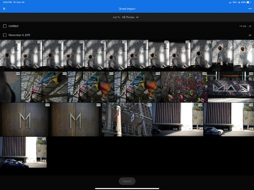 Lightroom finally adds direct photo import on iOS