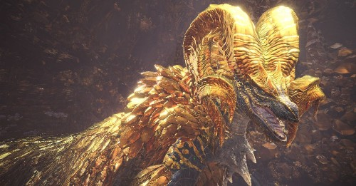 Monster Hunter: World's newest creature requires up to 16 players to defeat