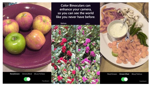 Microsoft's new app lets colorblind people see the world a little clearer
