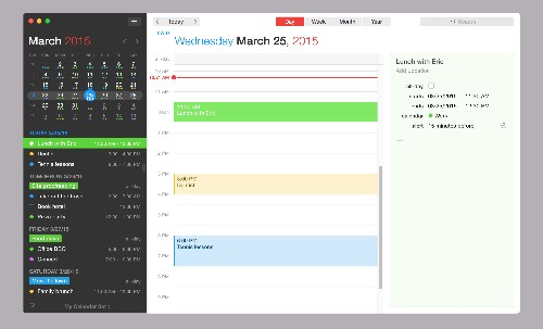 Fantastical for Mac is getting much better for business users