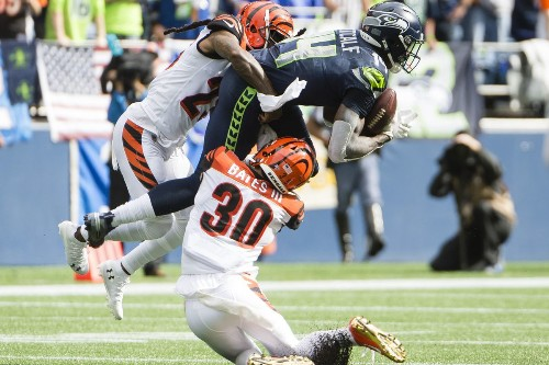 Seahawks WR DK Metcalf makes history with debut vs Bengals