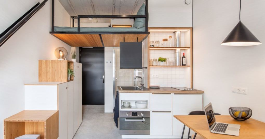10 ways to make the most of a tiny kitchen