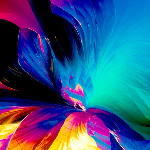 Under the microscope, your drink is a colorful piece of abstract art