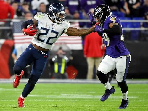 Titans Shock Ravens; 49ers Sack Vikings