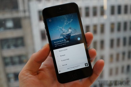 Rdio now recommends albums, playlists, and stations based on your listening history