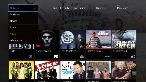 Sony's PlayStation Vue internet TV service is launching within two weeks