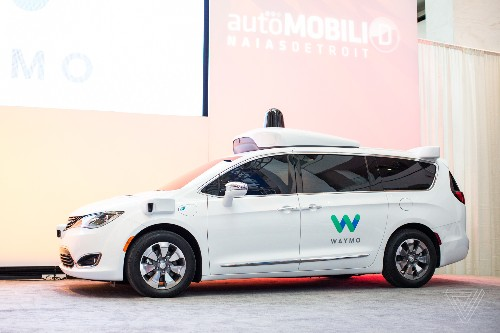 Waymo's fleet of self-driving minivans is about to get 100 times bigger