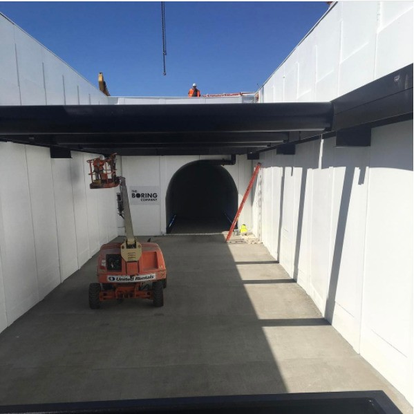 Elon Musk's new video of his underground tunnel project will make you nauseous