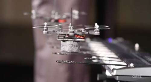 Band of drones can play music better than your average human