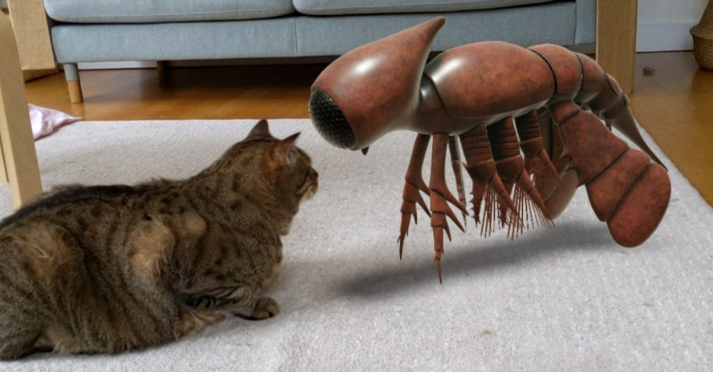 Google makes NASA artifacts and prehistoric crustaceans viewable in AR