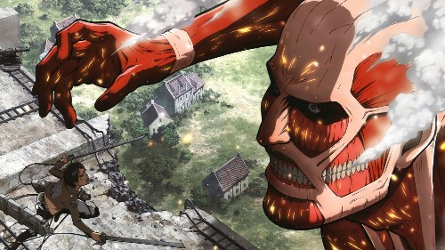 Attack on Titan's second season's ending credits are being called out for spoilers