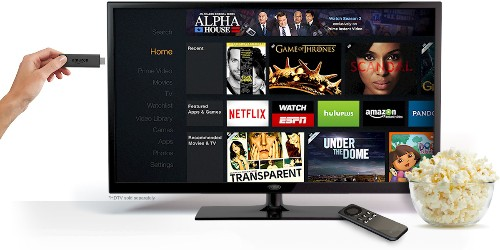Amazon takes on Chromecast with new $39 Fire TV Stick