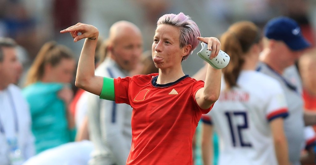 Megan Rapinoe hopes USA vs France is a 'total shitshow circus'