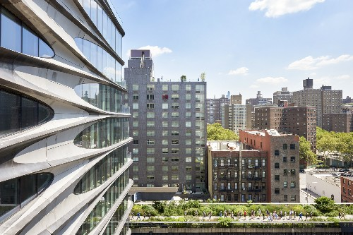 Zaha Hadid's curved West Chelsea condo gets its first rental listings
