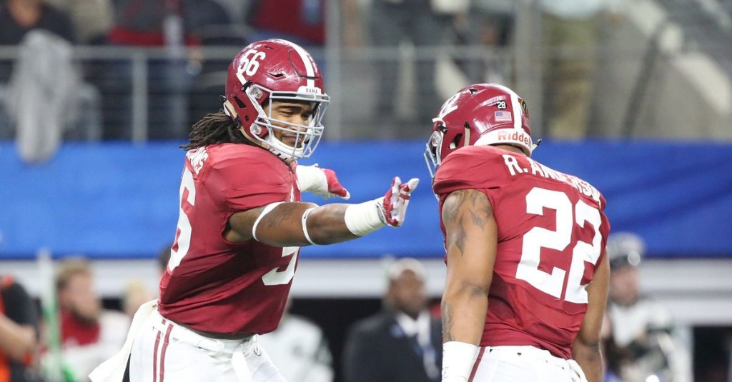 Vote for the RBR All-Saban Team: Outside Linebackers