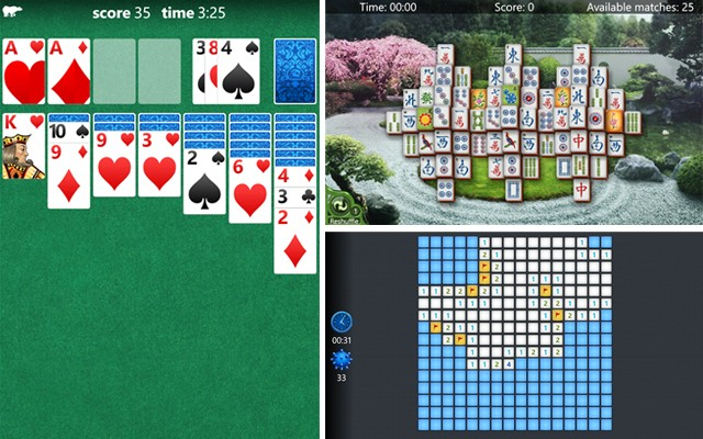 Microsoft releases Solitaire, Mahjong, and a new Minesweeper for Windows Phone