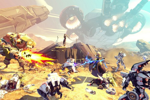 Randy Pitchford on Battleborn, the new genre-busting game from the makers of Borderlands