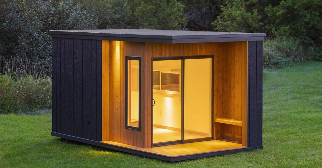 These tiny backyard studios can be used for anything you want