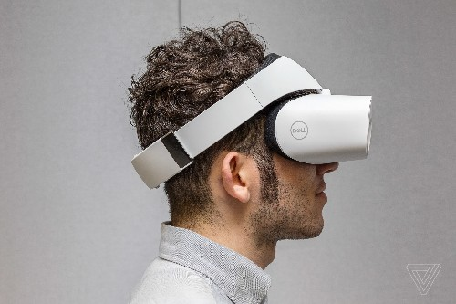 Dell's Windows Mixed Reality Visor will sell for $349.99