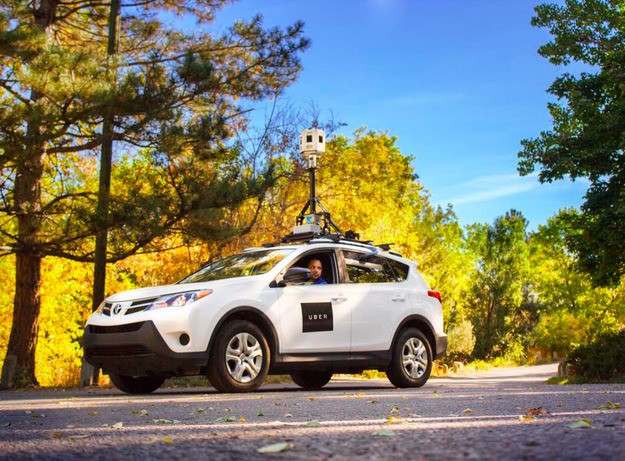 Uber is using Microsoft's old fleet of Bing cars to improve its maps data