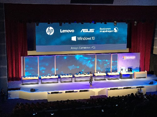 Asus, HP, and Lenovo will all build ARM-powered Windows 10 PCs