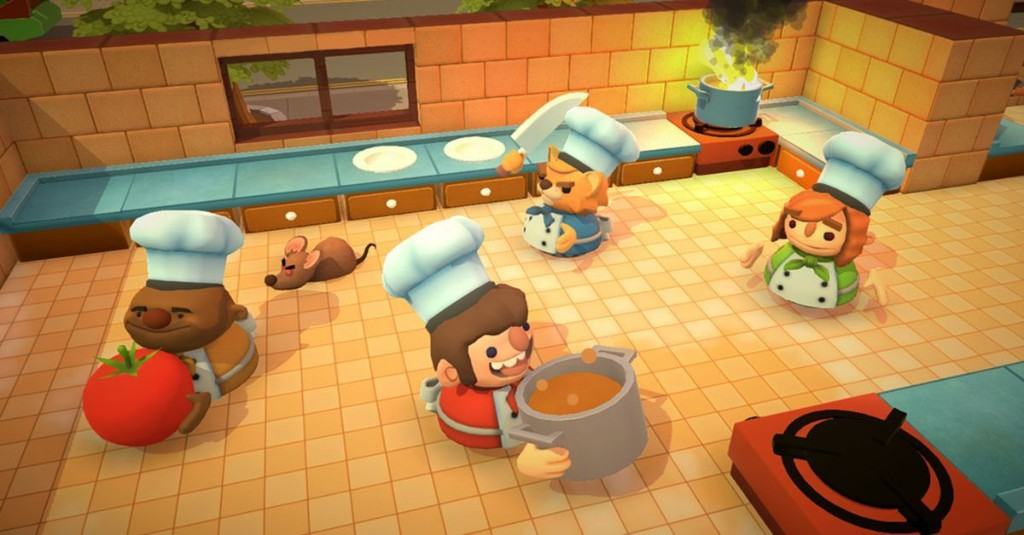 Overcooked free this week on Epic Games Store