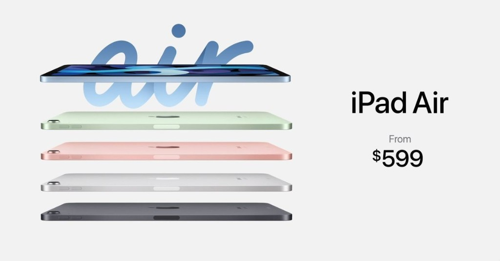 Apple announces new iPad Air that looks more like an iPad Pro, starting at $599