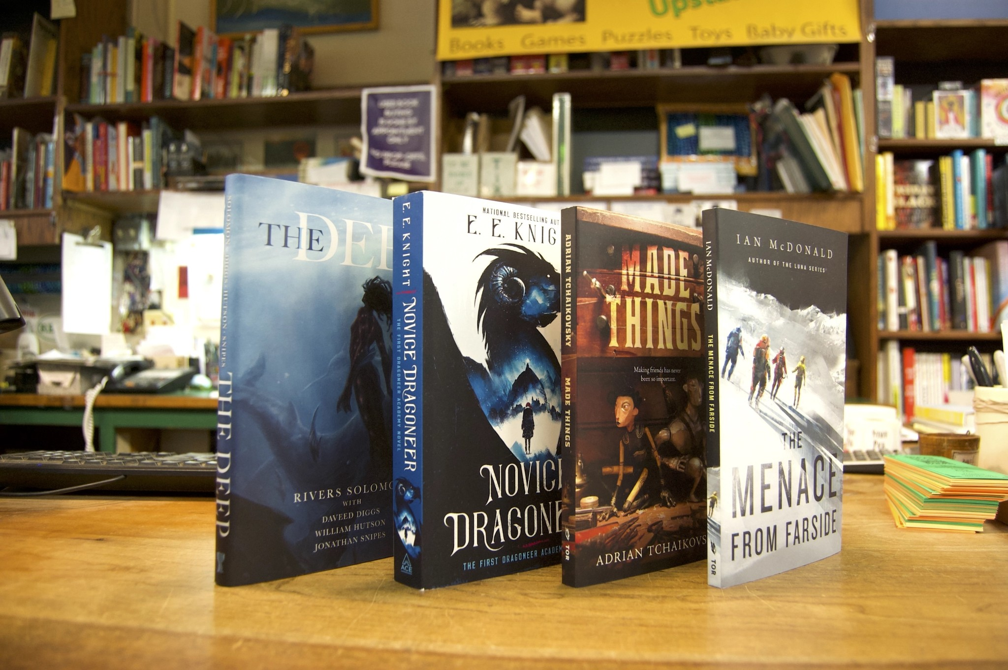Books, E-Books & Audiobooks - cover