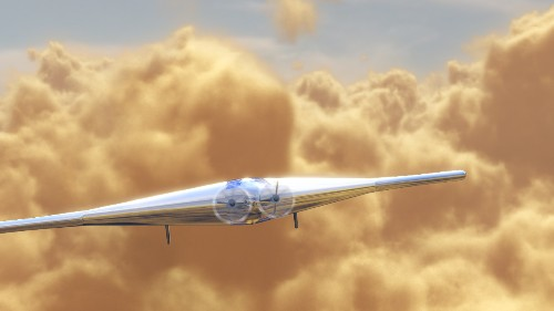 This inflatable plane could explore the clouds of Venus