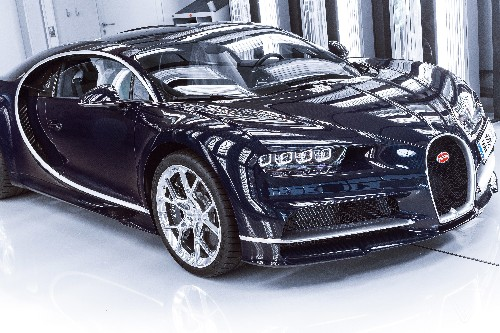 Bugatti sold more than $650 million in Chiron supercars without a single test drive