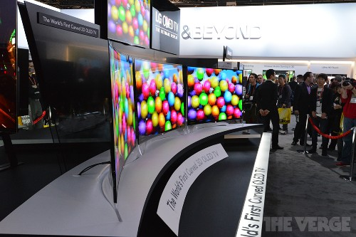 LG's 55-inch curved OLED TV arrives in Korea this June for $13,500
