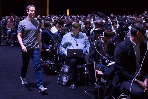 This image of Mark Zuckerberg says so much about our future