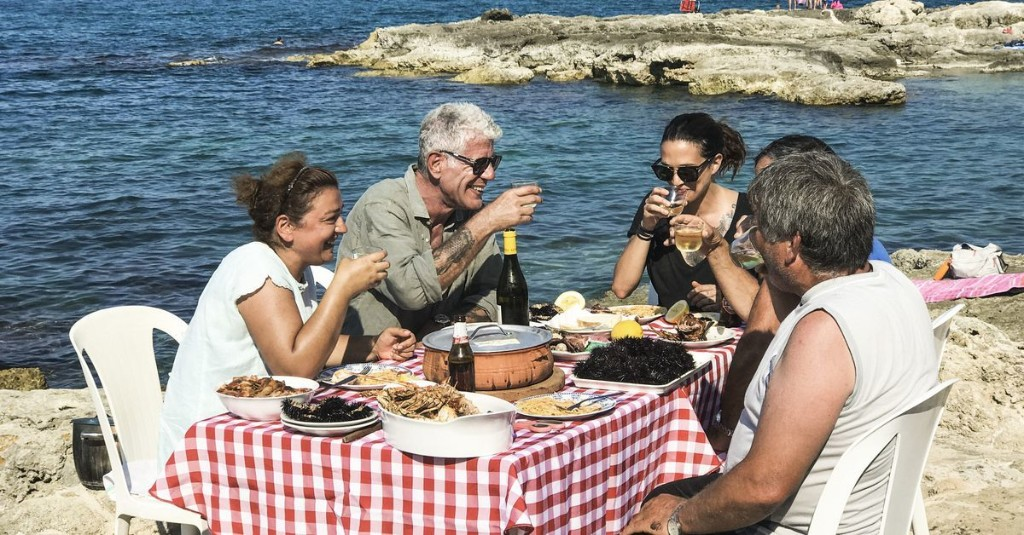Anthony Bourdain Dines With Francis Ford Coppola in Southern Italy