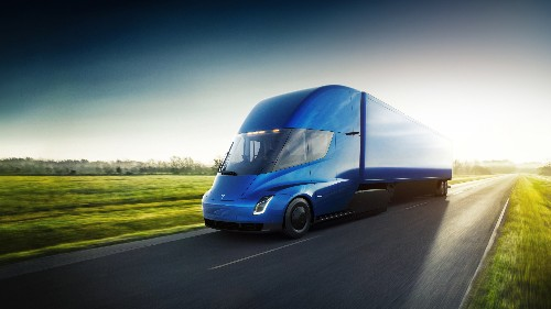 Report: Tesla is partnering with companies to build on-site charging stations for its Semi truck