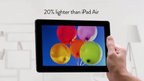 Amazon Kindle Fire commercial mocks the iPad Air with a Jony Ive parody