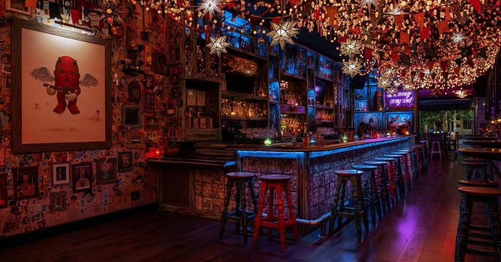 An Ode to Tequila and Mezcal Opens Under a Dazzling Canopy of Lights on Fremont East