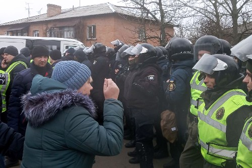 Coronavirus email hoax led to violent protests in Ukraine