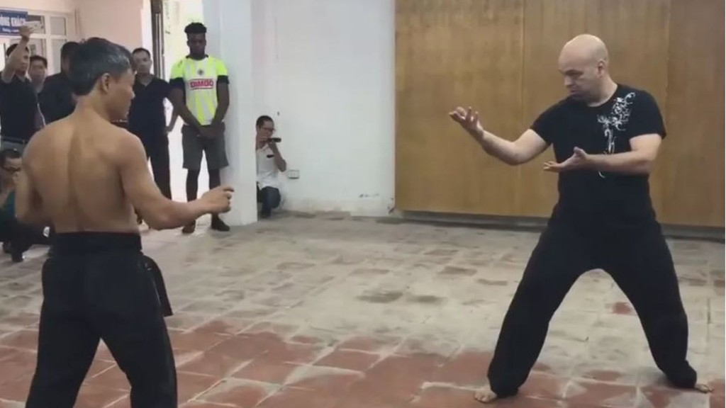 Midnight Mania! Wing Chun artist knocks out black belt, challenges MMA fighter