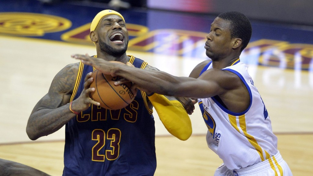 The Warriors should not double-team LeBron James